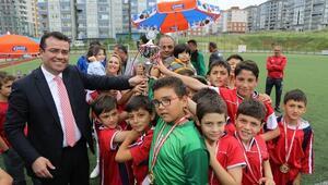Atakum'da Futbol Turnuvası Sona Erdi