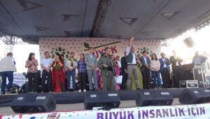 HDP'li Adaylardan Nusaybin'de Mitingi