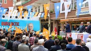 AK Parti Milletvekili Adayları Tunç Ve Yelkenci Arıt Mitinginde Halka Hitap Etti