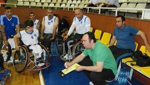 Engelli Basketçiler Ankara TSK İle Oynuyor