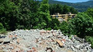 Ulupınar, Çınartepe'de Yıkım Çalışmalarını İnceledi