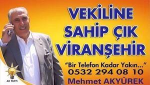 Viranşehir'de AK Parti Adayı AK Yürek Ten Bir İlk