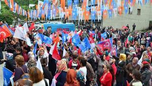 AK Parti'den Kozlu'da Coşkulu Miting