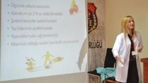 Tutuklulara Yönelik Sağlıklı Beslenme Semineri Düzenlendi