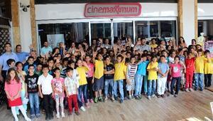 Aydın'da Öğrenciler Sinemayla Tanıştı