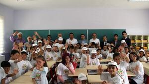 Bursagaz'dan Özel Okul Gibi Köy Okulu