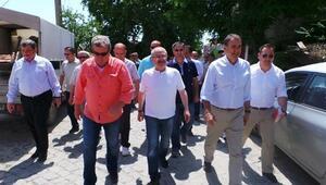 Vali Yaman Ve Başkan Gençer, Bağyüzü Mahallesini Ziyaret Etti