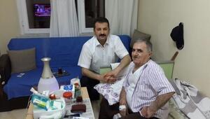 Başaralı Ve 112 Başhekimi, İlk İftarı Koah Hastası İle Yaptı