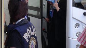 Uşakta FETÖ operasyonunda 20  abla  tutuklandı