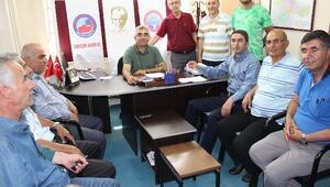 CHP İl Başakanı Enver Kiraz Eğitim İş Sendikası'nı Ziyaret Etti