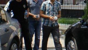 Alaşehirde 11 kişiye FETÖ tutuklaması