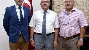 Belediyespor yönetimi Başkan Çobanı ziyaret etti