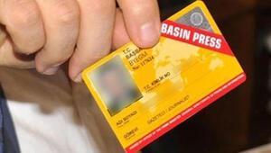 Basın kartları ve gri pasaportlarda yaşanan sorun giderilmeli
