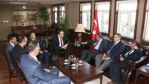 Adalet Bakanlığı Müsteşarı Bağcı, Vali Su'yu Ziyaret Etti