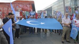 Bursa Kamu-sen'den Doğu Türkistan'a Destek