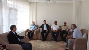 Hisarcık'ta Şehit Mezarlarına, Şehit Ailelerine Ve Gazilere Bayram Ziyareti
