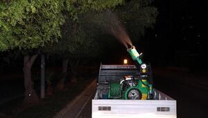 Mersin'de Belediye Çalışmaları Gece De Sürüyor