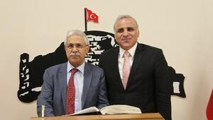 Prof. Dr. Öztürk, Vali Zorluoğlu Ve Başkan Yanılmaz'ı Ziyaret Etti