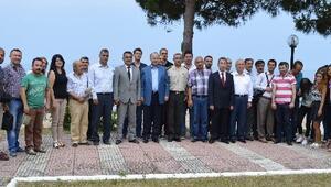 Vali Azizoğlu'ndan Basın Mensuplarına Kahvaltı