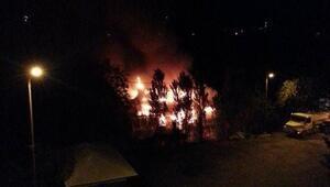 Köy İlkokulunda Yangın