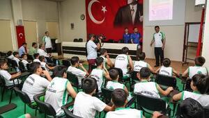 Fadıloğlu, Yaz Spor Okullarını Ziyaret Etti