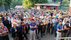 GMİS Yönetimi, Üzülmez'de Madenciyi Ziyaret Etti