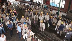 GMİS Yönetimi, Kozlu'da Madenciyi Ziyaret Etti