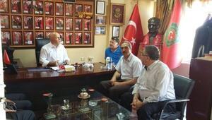 Büyükşehir Belediye Başkanı Sekmen'den Gazilere Ziyaret