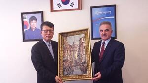 SAÜ'den Güney Kore Başkonsolosuna Ziyaret