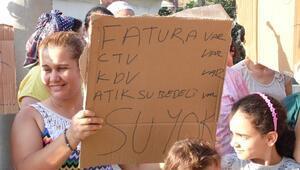 Samandağ'da Su Protestosu