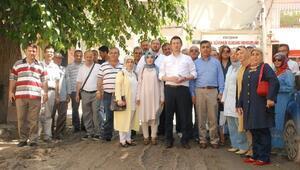AK Parti'den Bitirilemeyen Sokak Çalışmasına Tepki