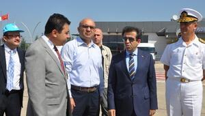 Kocaeli Valisi Hasan Basri Güzeloğlu, Cengiz Topel Havalimanında İncelemelerde Bulundu