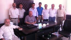 Günyüzlüler, İlçe Milli Eğitim Müdürü Kara'yı Ziyaret Etti