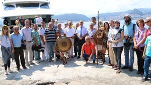 Vali Karahan, Giresun Adasında Gazeteciler İle Buluştu