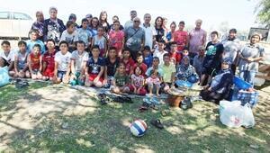 Burhaniye'de Kuran Kursu Öğrencileri Piknikte Bir Araya Geldi