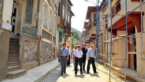 Akşehir'de Tarihi Evler Restore Ediliyor