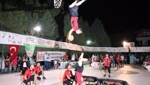 Erdek'te Sokak Basketbolu Turnuvası