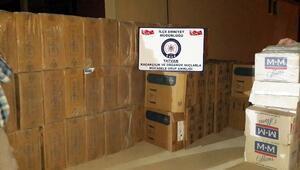 Bitlis 7 Bin 850 Karton Kaçak Sigara Ele Geçirildi
