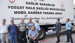Yozgat'ta Mobil Kanser Tarama Tır'ı Köylerdeki Kadınlara Yerinde Hizmet Verecek