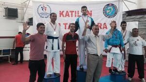 Karatede Volkan Patladı