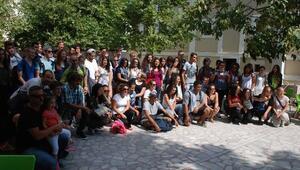 Avrupalı Öğrenciler Bayramiç'te