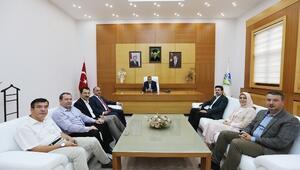 Üstün'den Başkan Toçoğluna Ziyaret