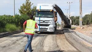 Didim'de Çöken Çevre Yolu Onarılıyor