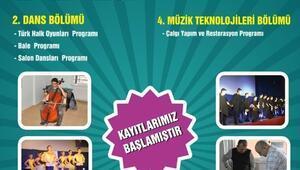 Süleymanpaşa Belediye Konservatuvarı Kayıtları Devam Ediyor