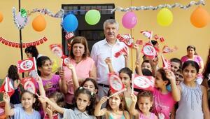 Yalmanlı'da Eski Köy Okulu Yenilendi
