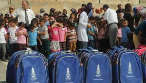 124 Okulda 6 Bin Öğrenciye Kırtasiye Yardımı