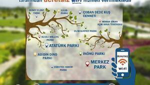 Büyükşehir'den 11 Parkta Ücretsiz Wi-fi Hizmeti
