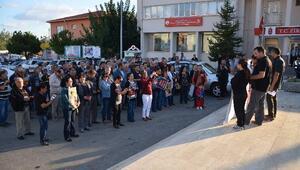 Ankara'daki Terör Saldırısı Eşme'de Protesto Edildi