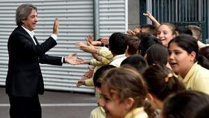 Başkan Demircan, Muallim Cevdet İlkokulu'nda Öğrencilerle Buluştu