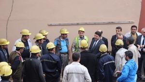 AK Parti Adayları Tunç Ve Bensiz Madencileri Ziyaret Etti